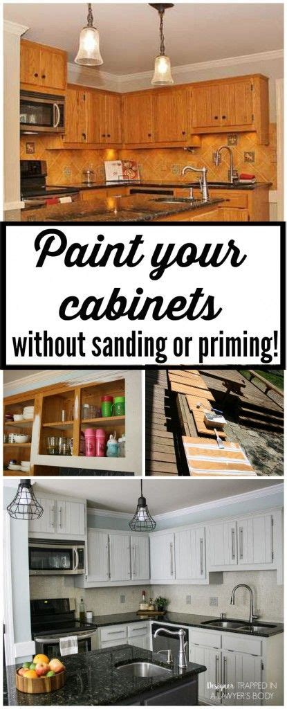 can you paint kitchen cabinets without sanding can you paint kitchen cabinets without sanding how to