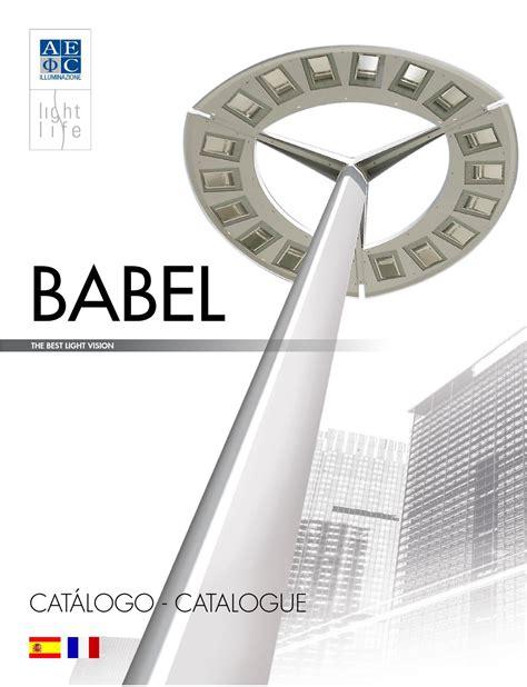 aec illuminazione srl catalogo babel fr es by aec illuminazione srl issuu