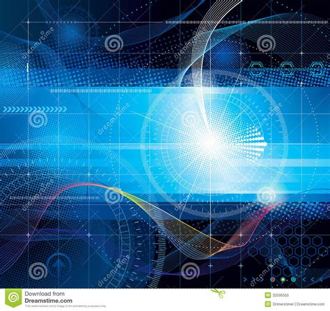 design a background for your computer vector backgrounds technologies internet computer
