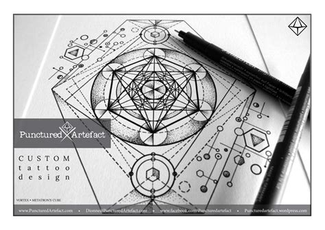 design artefacts meaning symbolic ink metatron s cube inkspiration
