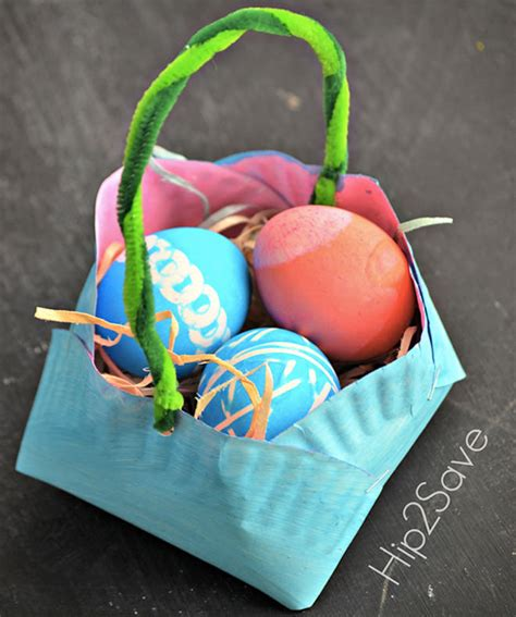 Easter Baskets With Paper Plates - 31 diy easter baskets for your bunnies s