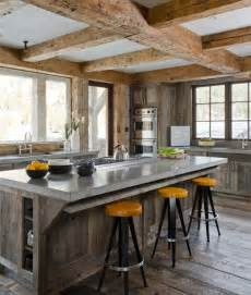 rustic and modern kitchen rustic modern kitchens eatwell101