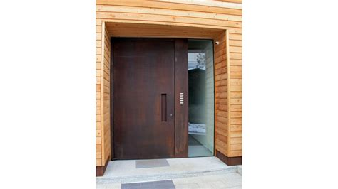 porte d ingresso porte d ingresso corten porte in acciaio porte per