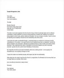 free church letter templates how to write a resignation letter for church membership