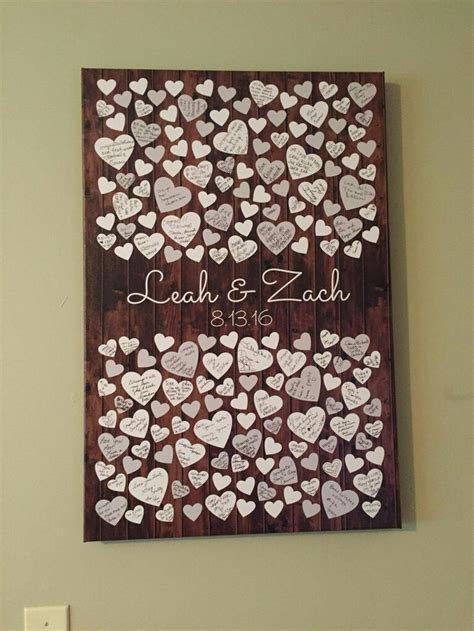 Wedding Guest Book Cover Ideas by 25 Best Ideas About Guestbook Ideas On