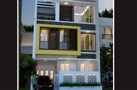 desain rumah minimalis  lantai     desain rumah