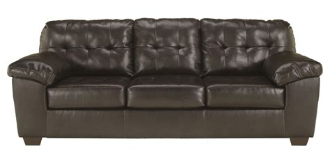 ashley furniture sectional sleeper sofa signature design by ashley alliston durablend 174 chocolate