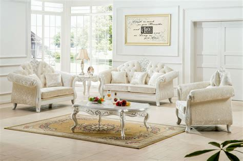 Beautiful Popular White Living Room Furniture Sets For White Living Room Sets