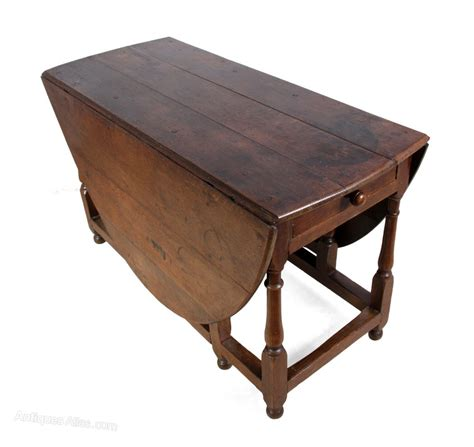Oak Drop Leaf Table Antique Oak Drop Leaf Table C1760 Antiques Atlas