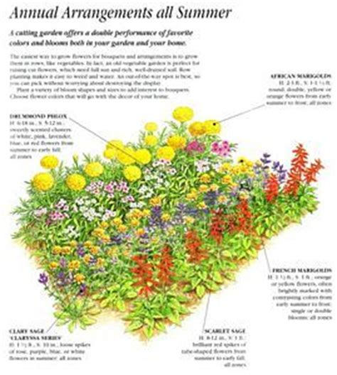 how to plan a flower garden layout annual cut flower garden layout plants and gardening