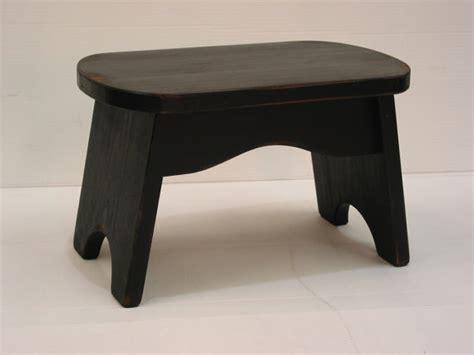 black step stool wooden stool bench foot stool
