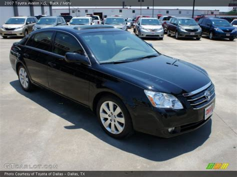 2007 Toyota Avalon Xls 2007 Toyota Avalon Xls In Black Photo No 50464886