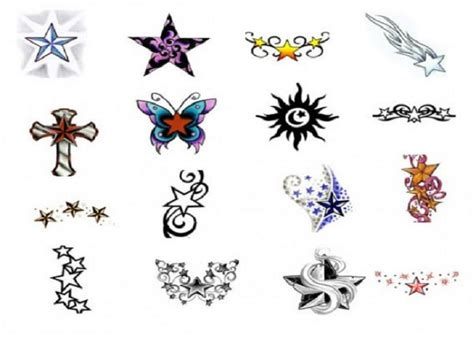 awesome star tattoo stencils designs inofashionstyle com