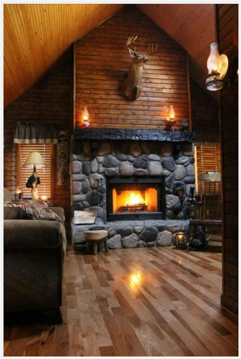 log cabin home interior gorgeous log cabin fireplace