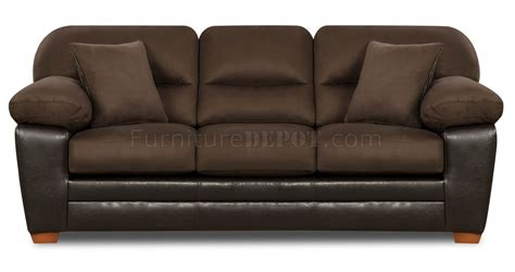 brown microfiber couch and loveseat brown godiva microfiber sofa loveseat set w accent pillows