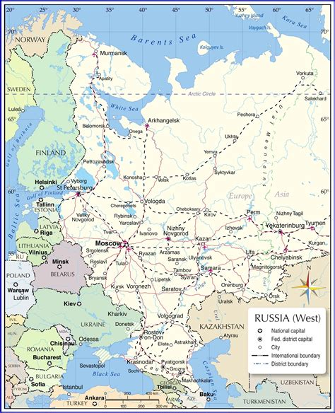 map europe and russia map of european russia nations project