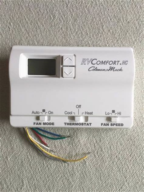 rv comfort coleman mach thermostat interior for sale page 13 of find or sell auto parts