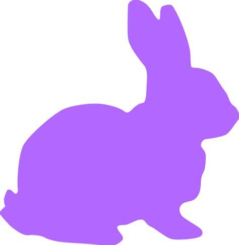 Purple Rabbit purple rabbit clip at clker vector clip