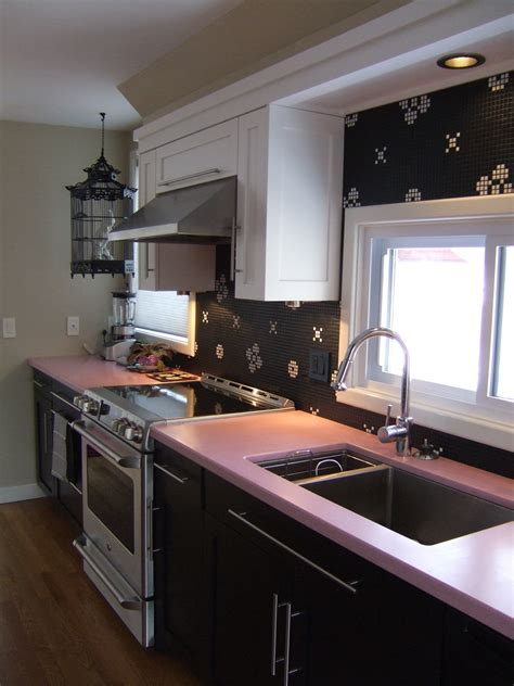 Pink Kitchen Countertops by News Caragreen