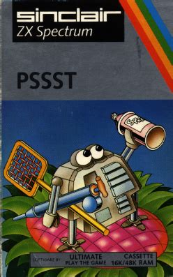 emuparadise zx spectrum pssst 1983 ultimate rom download