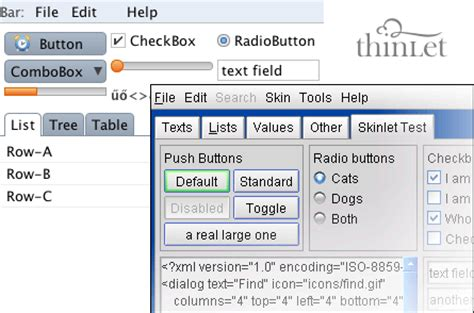 java swing toolkit four toolkits for java to develop excellent gui wittysparks