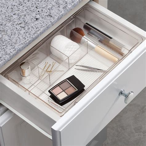 bathroom drawers organizers expandable makeup drawer organizer mycosmeticorganizer com