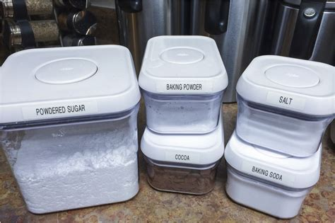 baking containers storage organize your kitchen this poptober with oxo bake love give