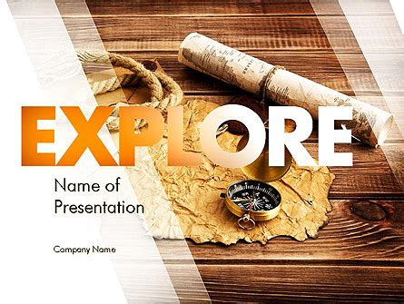 themes in literature explorer of the stars explorer theme presentation template for powerpoint and