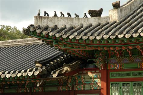 seoul travel guide wikitravel file changdeokgung roof figures jpg wikitravel