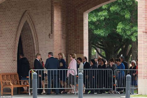 Will Be Buried Friday by Barbara Bush S Casket At Houston Church As Thousands Of