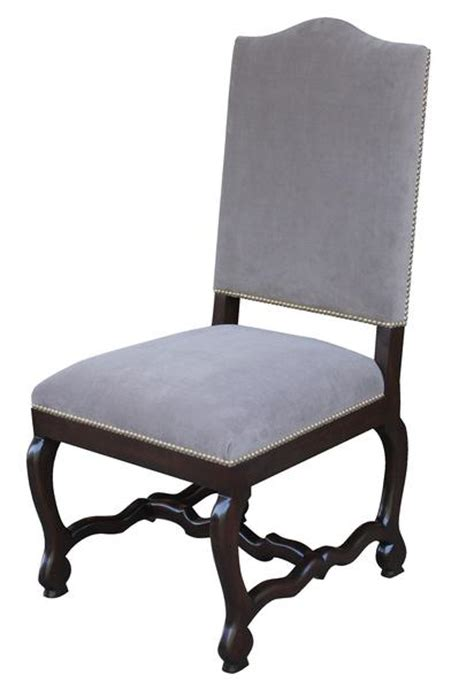 Custom Fabric Dining Chairs Os De Mouton Dining Chair Mortise Tenon
