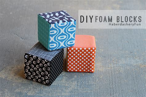 Upholstery Foam Blocks by Diy Fabric Covered Foam Blocks