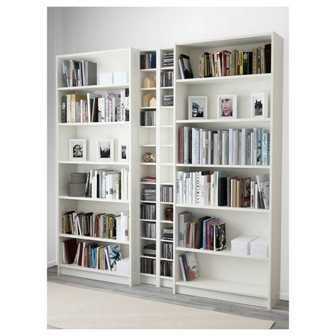 Billy Gnedby Bookcase White 200x202x28 Cm Ikea Billy White Bookcase