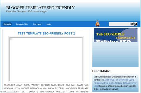 template seo template seo friendly dan ringan template seo