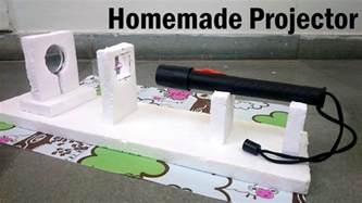 build a at home how to make a projector at home