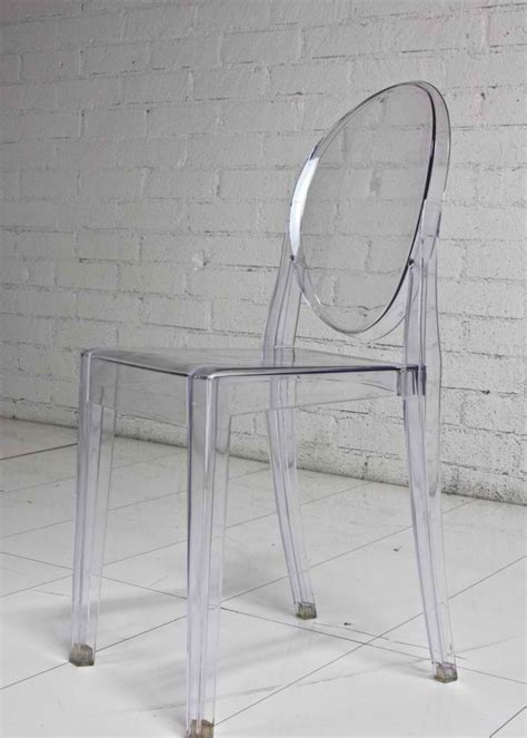 Glass Chairs by Acrylic Chairs