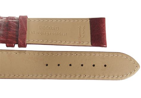 Grain Leather by Fluco Record Buffalo Grain Leather Burgundy