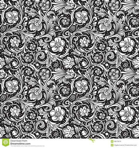 ornamental seamless pattern vector black and white ornamental seamless vector pattern royalty