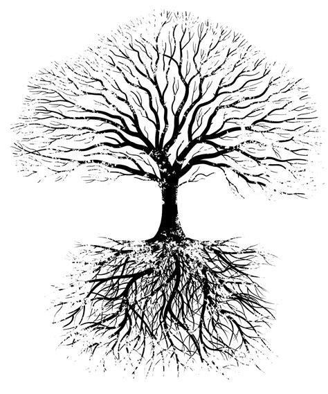 symbolism of a tree tree silhouette roots tattoo tattoos on pinterest here comes the bride pinterest tree