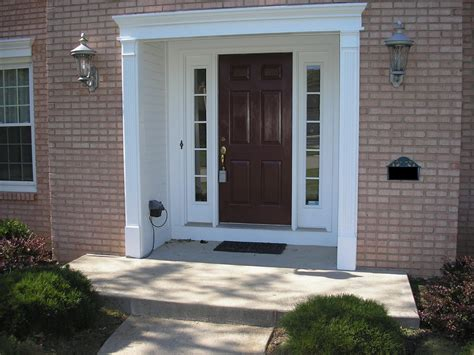 Decorating Ideas For A Bathroom Craftsman Front Door With Sidelights All About House