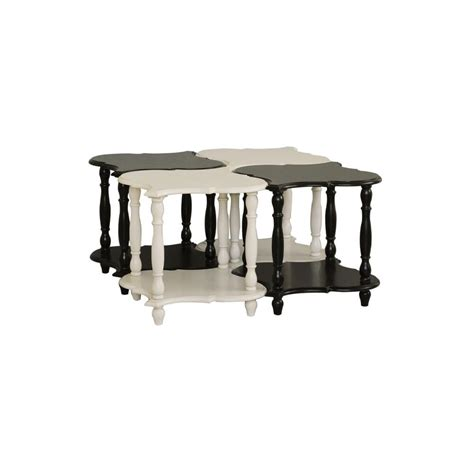 pulaski accents side table in black 641065 pulaski furniture black or white accent table with display