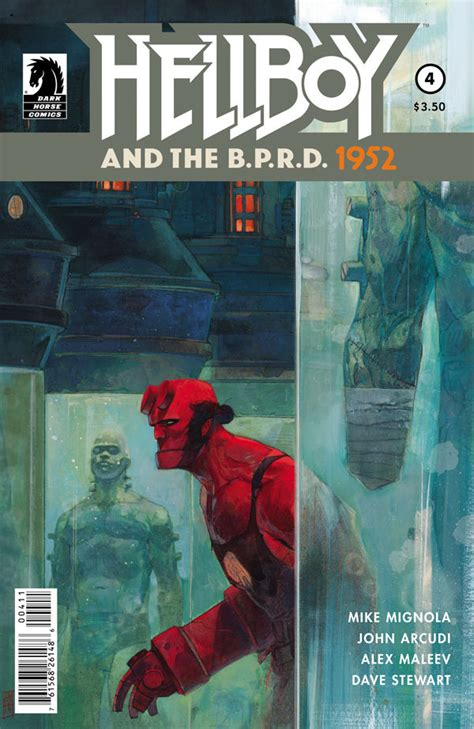 libro hellboy and the b p r d hellboy and the b p r d 1952 4 profile dark horse comics