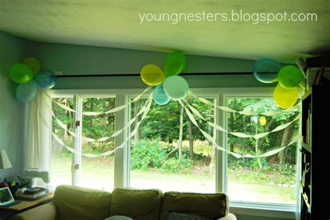 1st birthday party decoration ideas at home sweet and simple first birthday party at home project