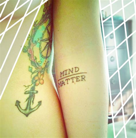 mind over matter tattoo pin mind matter studio stockport on