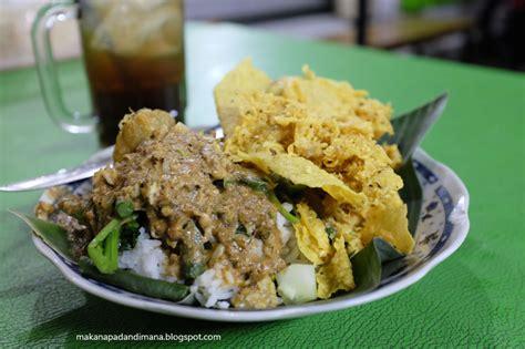 Nasi Pecel Samset Paket Murah Makan Makan Siang sarapan murah hanya 10 ribuan di sekitar kus brawijaya malang traveling yuk