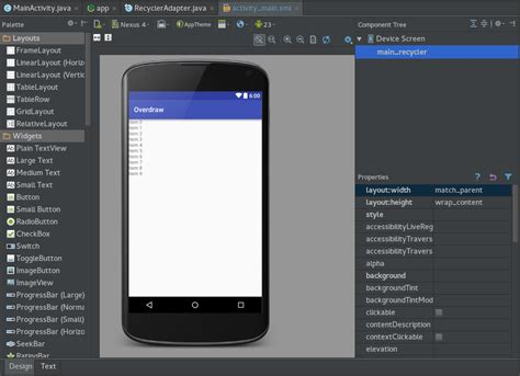 android studio review android studio layout preview david developer medium