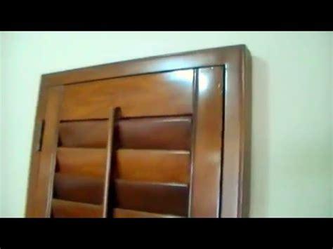 persianas de madera shutters de madera youtube