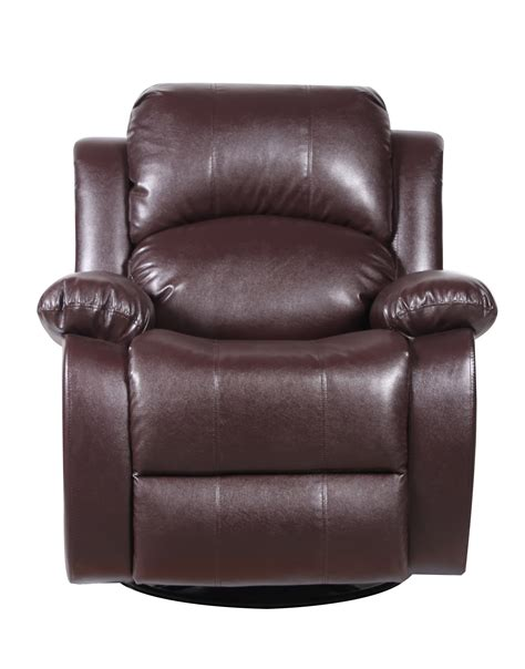 classic recliner chairs classic plush bonded leather power lift recliner living