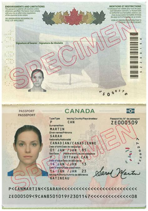 canadian passport template id requirements for msp enrolment province of
