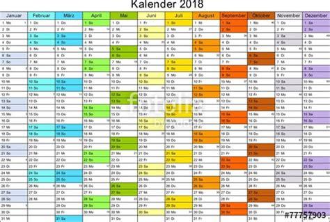 Kalender 2018 Bayern Ohne Schulferien Quot Kalender 2018 Universal Ohne Feiertage Quot Stockfotos Und